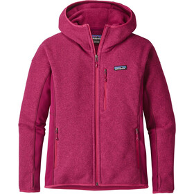 Patagonia Performance Better Sweater Hoody Dames, magenta